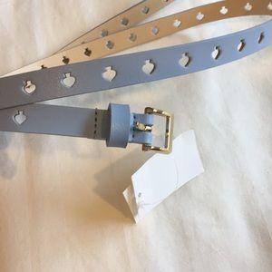 Kate spade baby blue belt